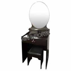 Round Mirror Dressing Set