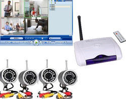 Wireless Camera Kit With 4 Night Vision Camera