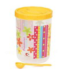 Blooming Plastic Canister