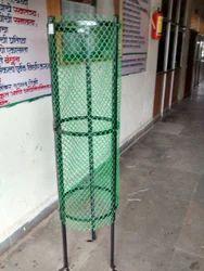 Iron Gabions with Fiber Net for Plantation