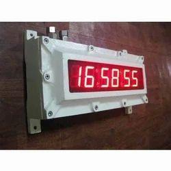 Flameproof  Digital Clock