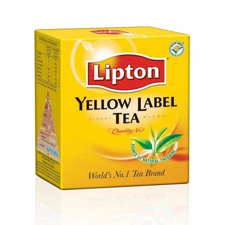 Price Black Label >> Lipton Yellow Label Tea, Pack Size: 200 Gm, Rs 175 /200gm | ID: 2510745512