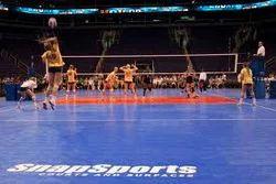 Sports Flooring Indoor And Outdoor Volleyball Court