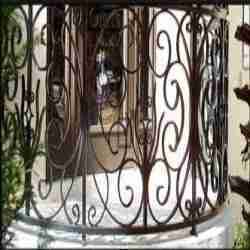 Balcony grills balcony grills manufacturer supplier - Box grill designs balcony ...