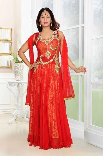 76cbb98c4de Fancy Reddish Gown at Rs 6400 | Malad West | Mumbai | ID: 9516581330