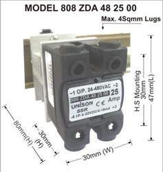 Solid State Relay Dc To Ac 25amp Unison Controls Private Limited