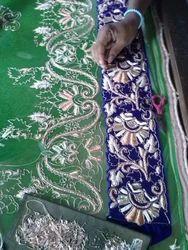 customized hand embroidery saree border