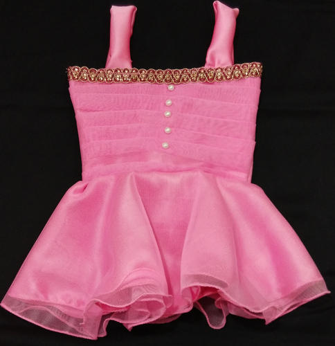 2bef16bd8 Party Wear Baby Frock - Pink ( 6 - 8 Months )