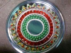 Retailer of Aarthi Plates & Wedding Ceremony Aarthi Plates by ...