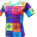 Designer Tie Dye Tops
