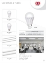LED Bulb & Tubes