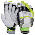 Hemra White Cricket Batting Gloves