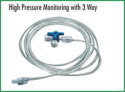 High Pressure Monitoring with 3 Way