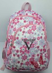 Flower Design Voyaguer Backpack