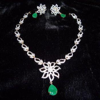 American diamond jewellery diamonds diamond jewels swarupini american diamond jewellery mozeypictures Choice Image