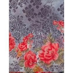 Printed Floral Cotton Voile Fabric