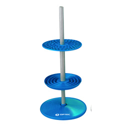 Pipettes Stand Vertical Light Polypropylene
