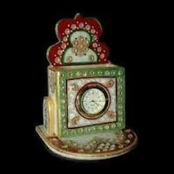 Mable Handicraft Painted Clock