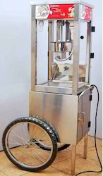 Popcorn Machine With Trolley, For Commercial