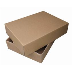 Cardboard Corrugated Duplex Carton Box, for Packaging, Gift, Rectangle