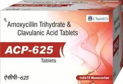 Amoxycillin Trihydrate & Clavulanic Acid Tablets