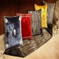 Kedarnath 60-Knitted Plain Streach Velvet Fabric For Cushion