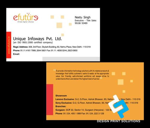 Business card design print in rohini delhi id 4422466188 business card design print reheart Images