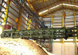 Bagsse Reclaimber Crane With Scrapper Chain Conveyor