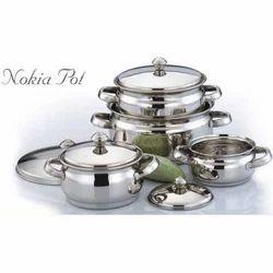 Stainless Steel Nokia Pots Set