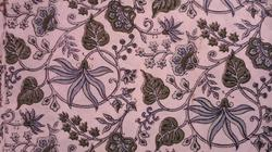 Open Flower Printed Cotton Fabric