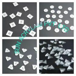 Acrylic Heart Mosaic Tiles