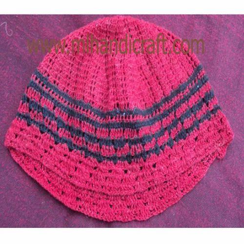 Handmade Caps - Designer Crochet Cap Manufacturer from Meerut 041035f37