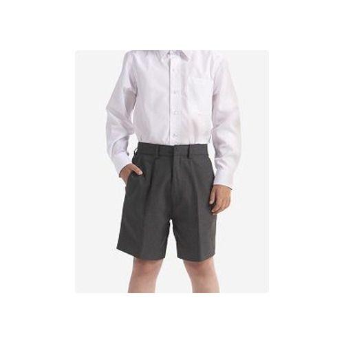 Boy School Shorts Grey/Black