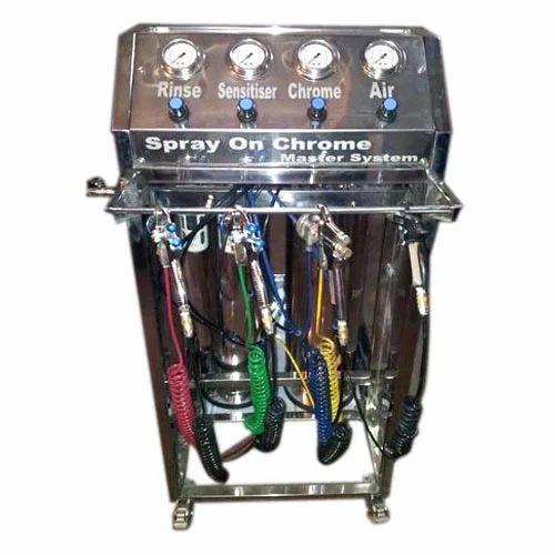 Chrome Spray Machines - Spray On Chrome Service Provider