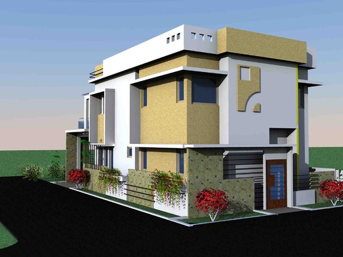 Exterior Residential Architectural Design In Thaly Road Hosur Amazing Architectural Designs For Homes