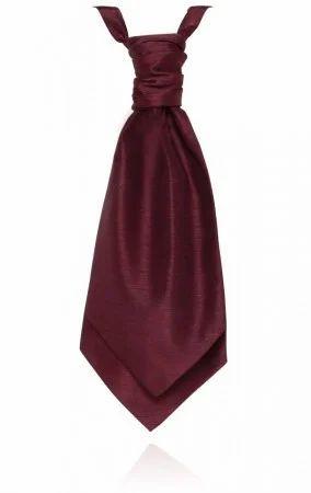 Silk Woven Cravat Tie