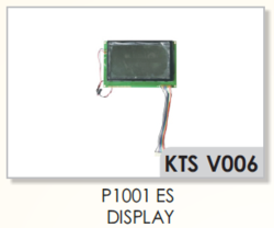 Vamatex P1001 ES Display