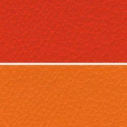 Orange Seat PVC Leather Cloth