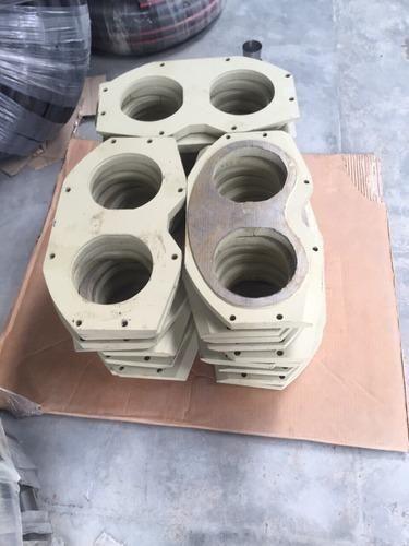 Concrete Pump Spare Parts Spectacle Wear Plate