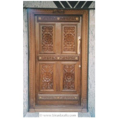 Carved doors bangalore teak wood carving door sc 1 st for Teak wood doors in bangalore