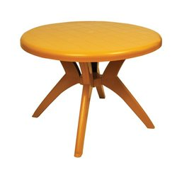 Round Plastic Dining Table