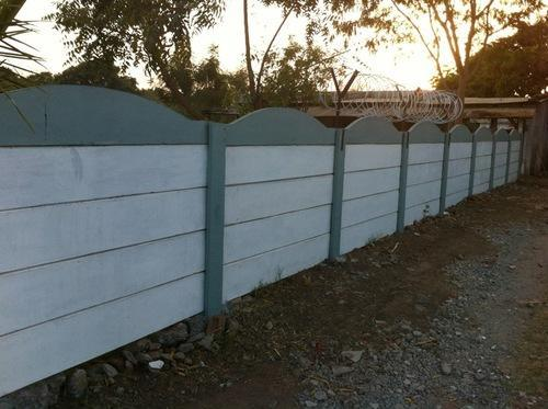Ready Made Wall Compound : Manufacturer of compound wall readymade by