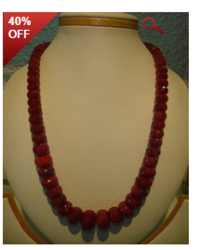 Original Cut Ruby Big Stone Jewelry