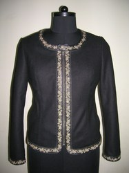 Full Wool Embroidered Jacket