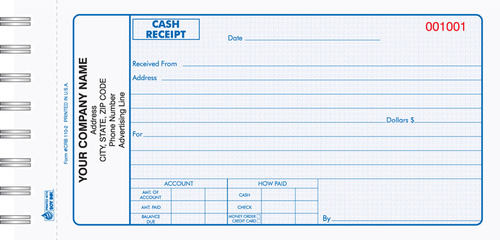 Receipt Book - View Specifications & Details of by Adiba Printing ...