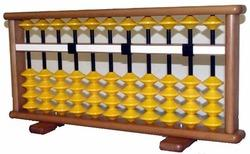 13 Rod Single Color Abacus