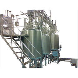Automatic Syrup Manufacturing Plant