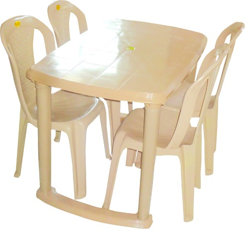 Plastic Dining Table Manufacturer From Murbad