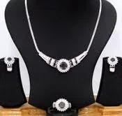 Black and White Diamond Set