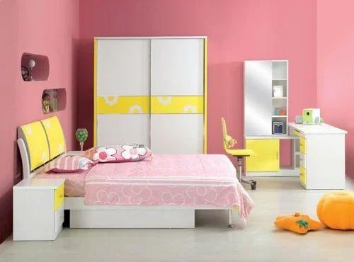 Elegant Modern Kids Bed Room, Children Bedroom Sets, किड्स